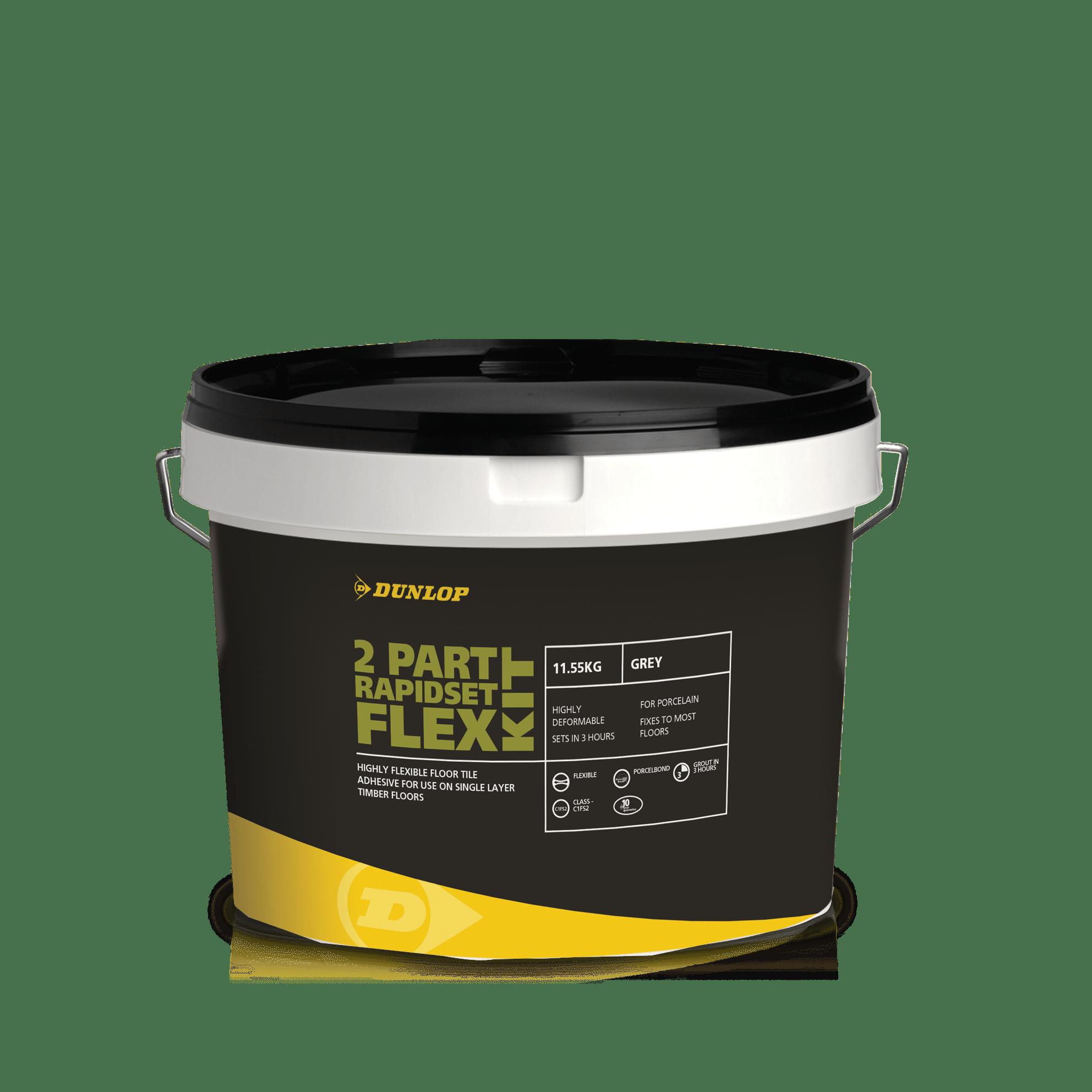 2 Part RapidSet Flex | Tile Adhesives | Dunlop Trade