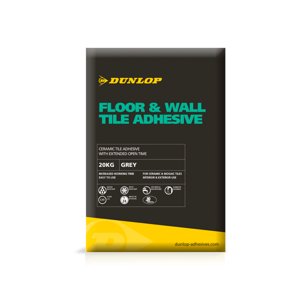 Floor Wall Adhesive Tile Adhesives Dunlop Trade