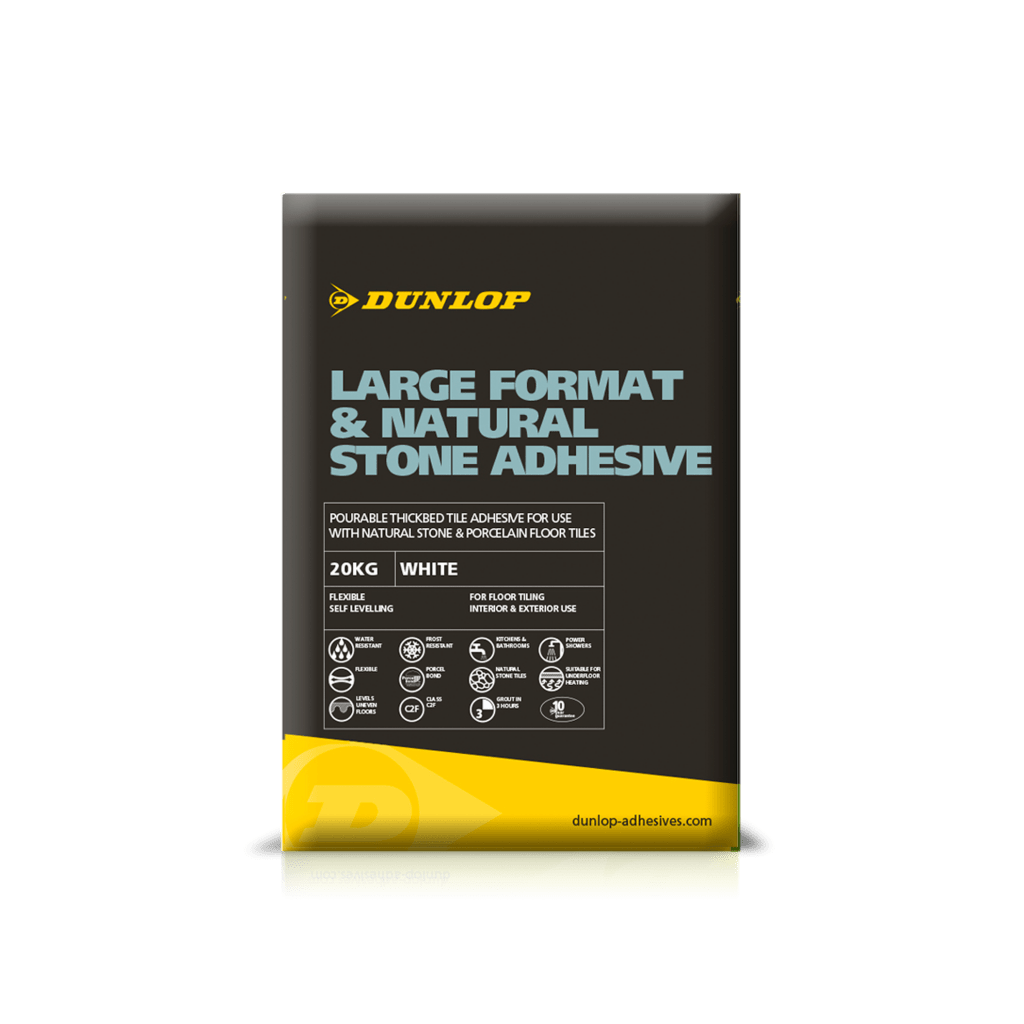 Large Format & Natural Stone Adhesive