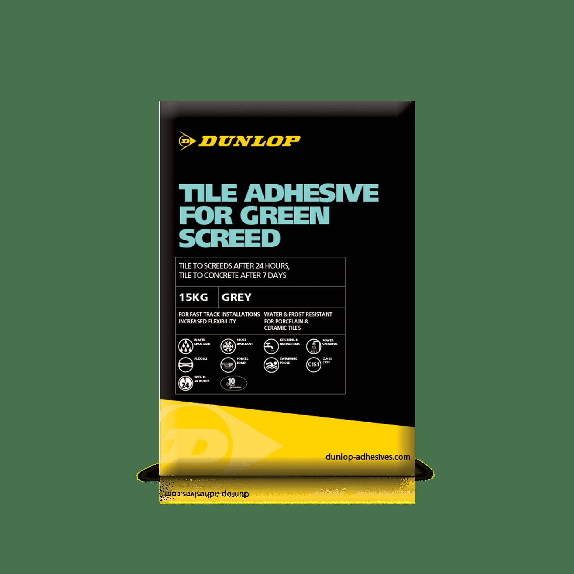 Green screed adhesive tile adhesives dunlop trade dailygadgetfo Choice Image