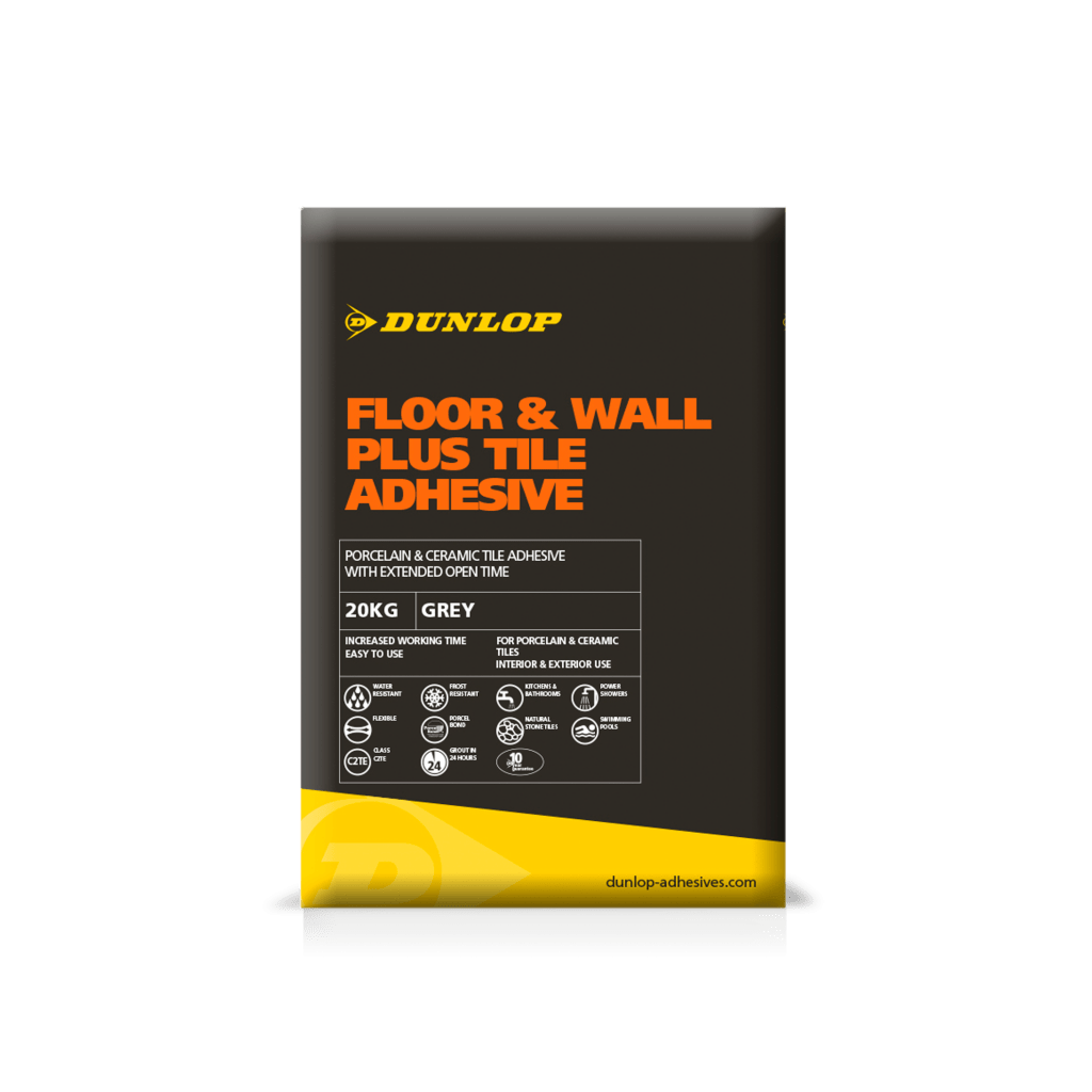 Floor Wall Plus Tile Adhesives Dunlop Trade