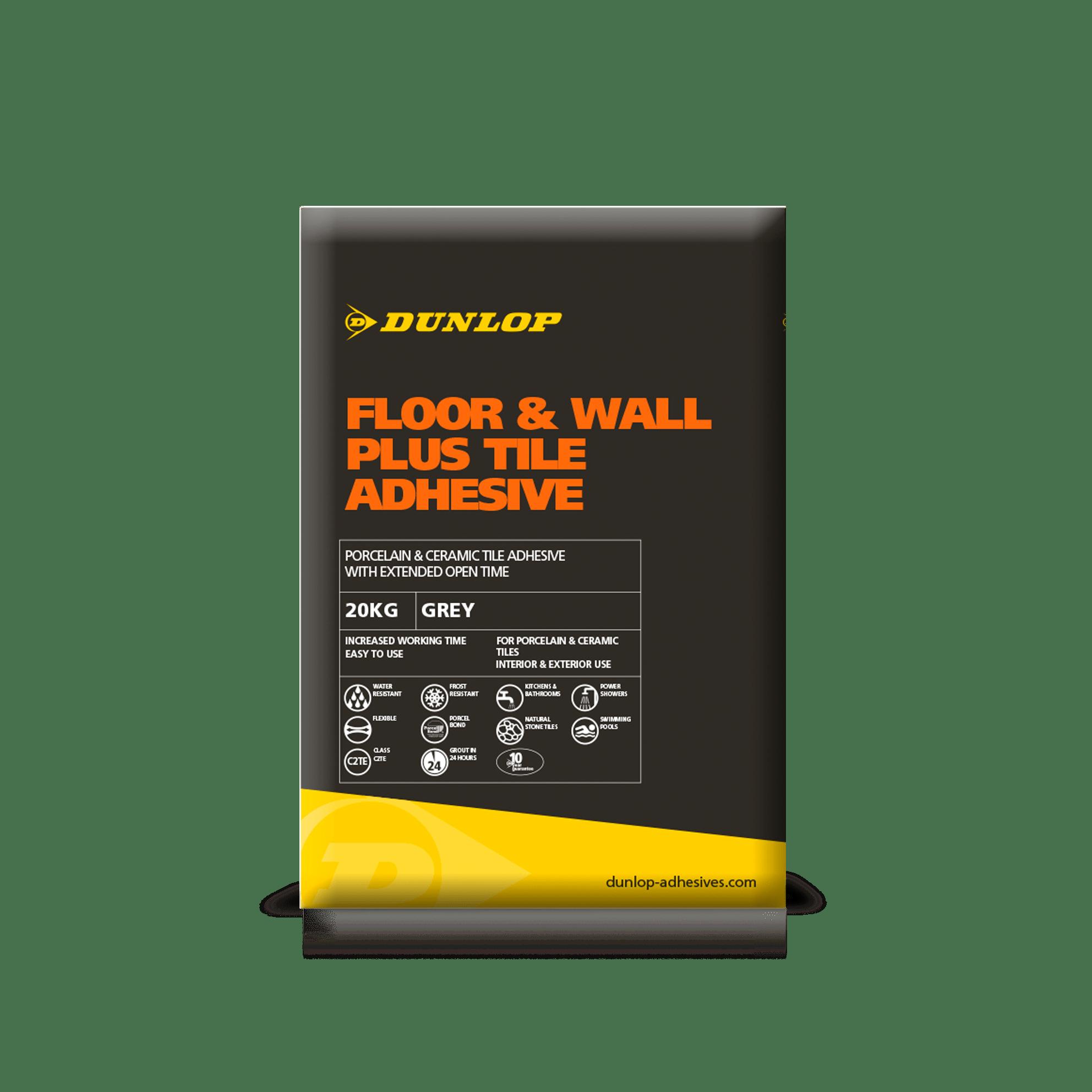 Floor Amp Wall Plus Tile Adhesives Dunlop Trade