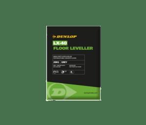 LX-40 Floor Leveller