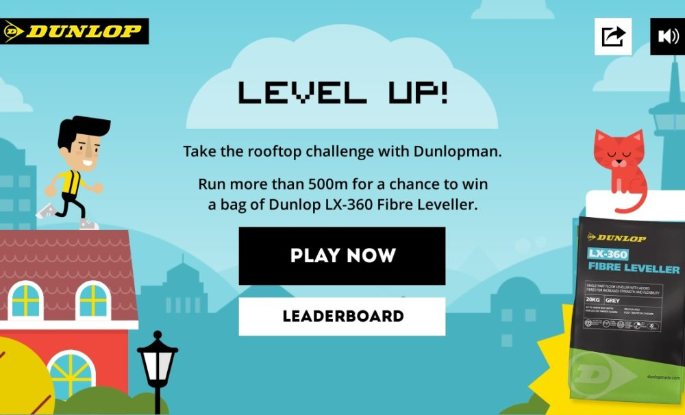 Level Up with the new Dunlop flooring range
