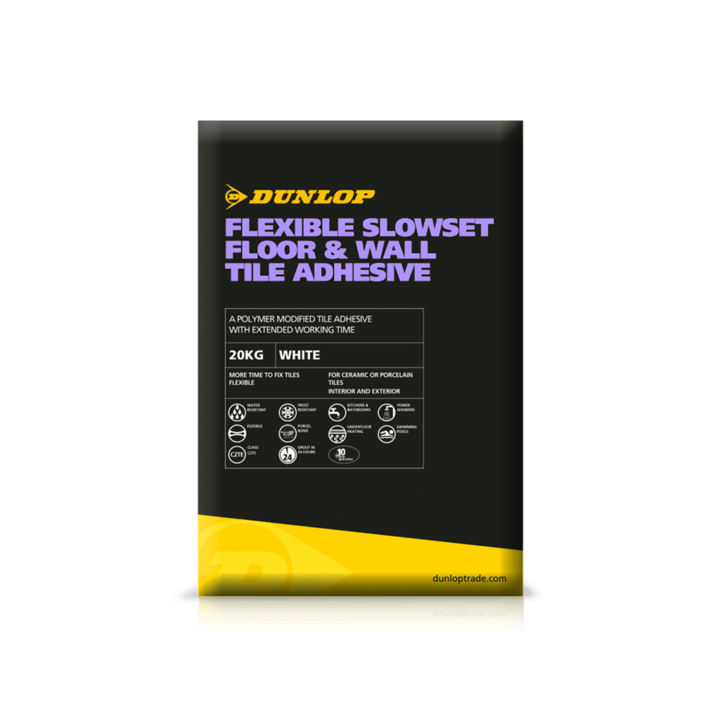 Flexible Slowset Floor and Wall Tile Adhesive