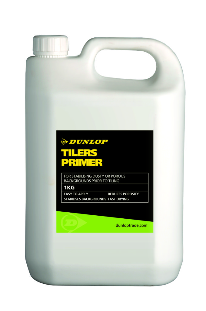 Dunlop Launches Tilers Primer Dunlop Trade